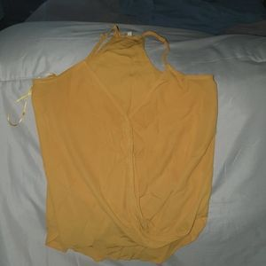 Mustard yellow XS tank top